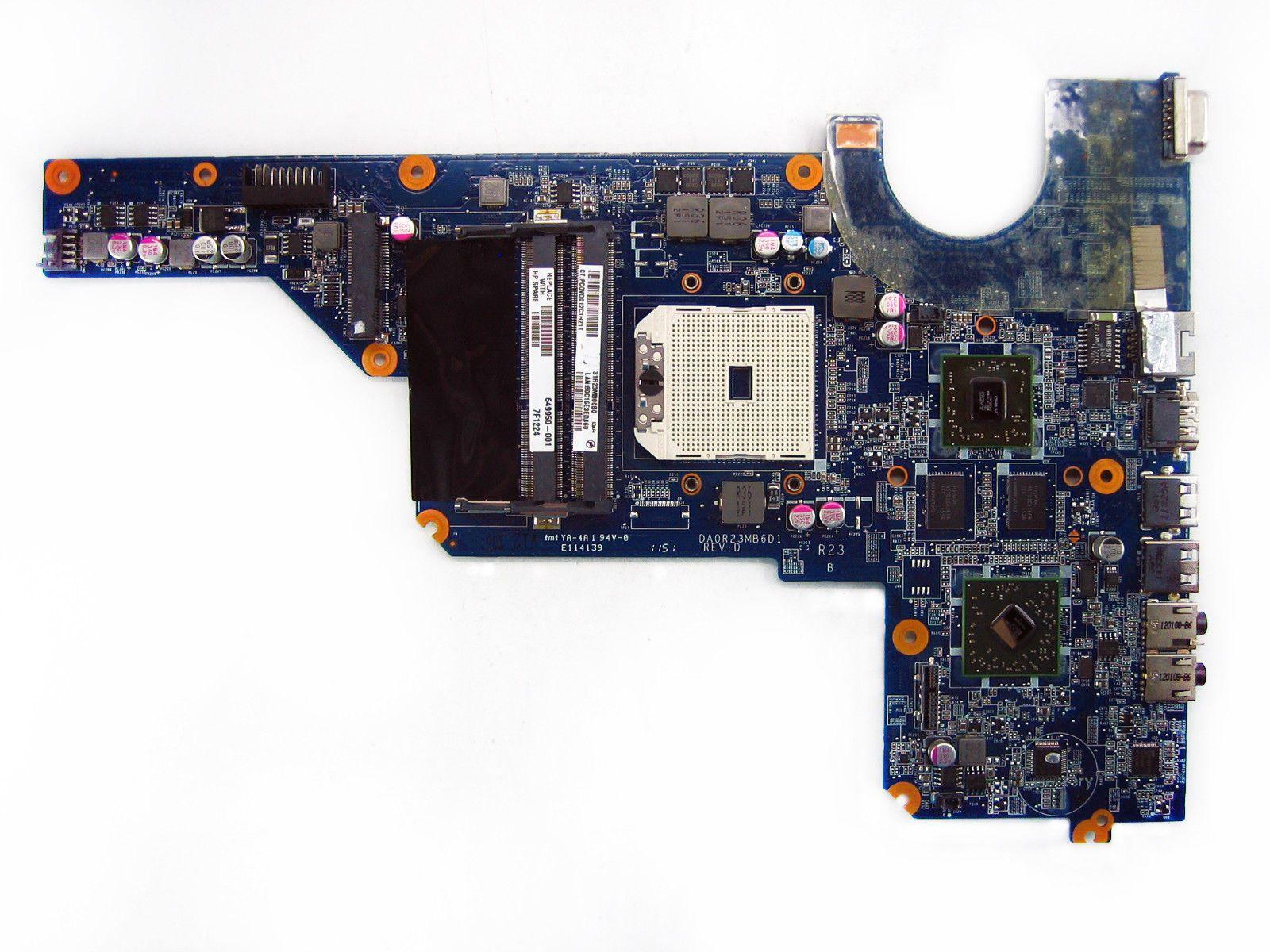 649950-001 board per HP padiglione G4 G6 laptop scheda madre AMD 100% pieno testato ok e garantito