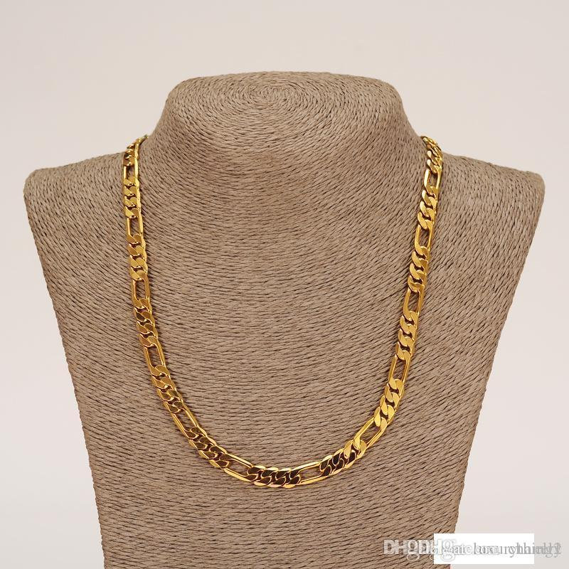 이십사인치 무거운 MENS 22K SOLID GOLD GF FINISH THICK MIAMI 쿠바 LINK 목걸이 체인 10mm 104G NECKLACE