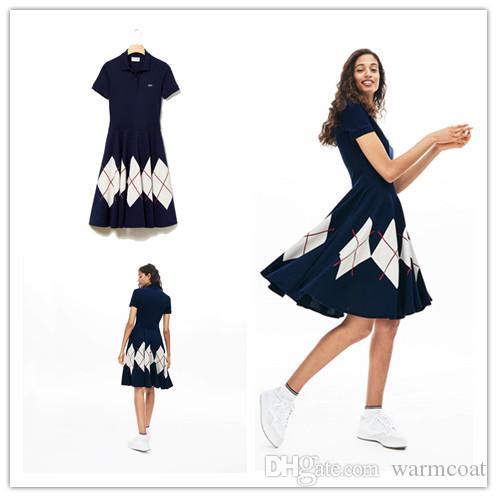 Nuova primavera e L'Estate di Modo Retro Stampa Camicia Delle Donne Abito Manica Corta Slim Camicia Casual Vestito