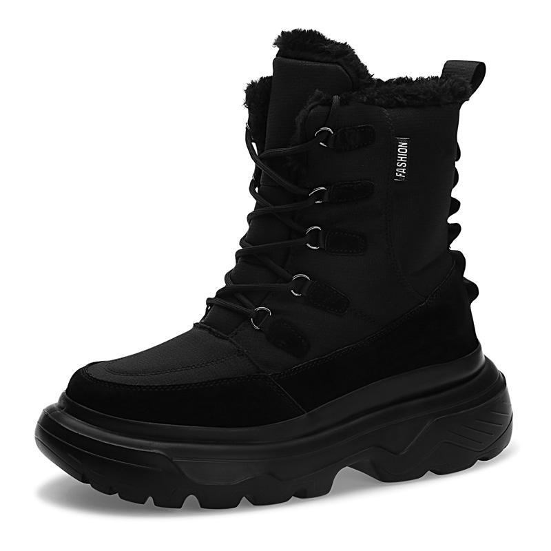 Hot Sale-e homme blanc rouge noir garçon hommes bottes entraîneurs des hommes Sneakers Boot chaussures de marche en plein air