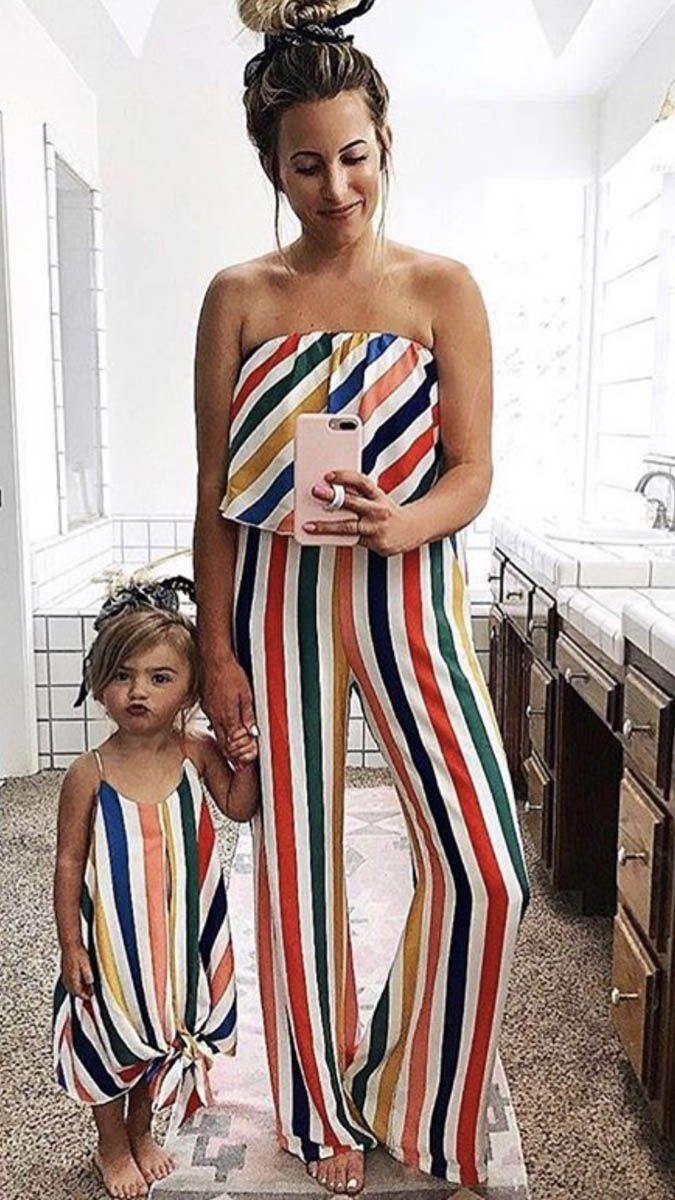 الأم والابنة ملابس الأم وابنتها مطابقة ملابس مطابقة الأم والابنة فساتين الأسرة فساتين الشاطئ فساتين A3224