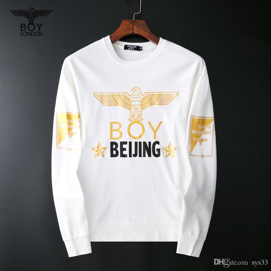 Men's Casual Sweater Free Logistics New Luxury Long Sleeve Sweater European and American Brand Fashion M-XXXL-005