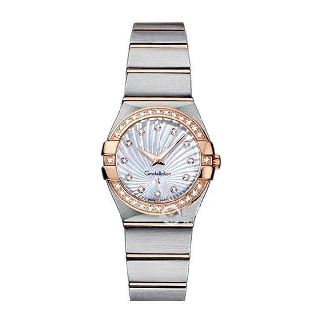 أعلى النساء اللباس الساعات 28 ملليمتر أنيقة الفولاذ المقاوم للصدأ روز الذهب الساعات عالية الجودة أزياء سيدة حجر الراين الكوارتز ساعات المعصم