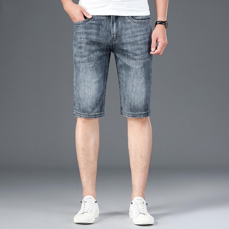 MORUANCLE desgaste ocasional de los hombres los pantalones cortos pantalones cortos de mezclilla clásico para el hombre al aire libre Tamaño 2020 del verano más el 30-44