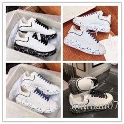 2020 Italie Marques Designer Style Chaussures de sport Mode véritable des femmes des hommes en cuir Chaussures Casual Gooses Entraîneur d094