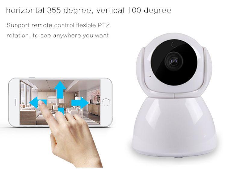 1080P 720P Home Security Camera Ip Wireless Smart WiFi Camera WI-FI Night Vision Survey Monitor Baby Monitor Hd Mini CCTV Camera V380