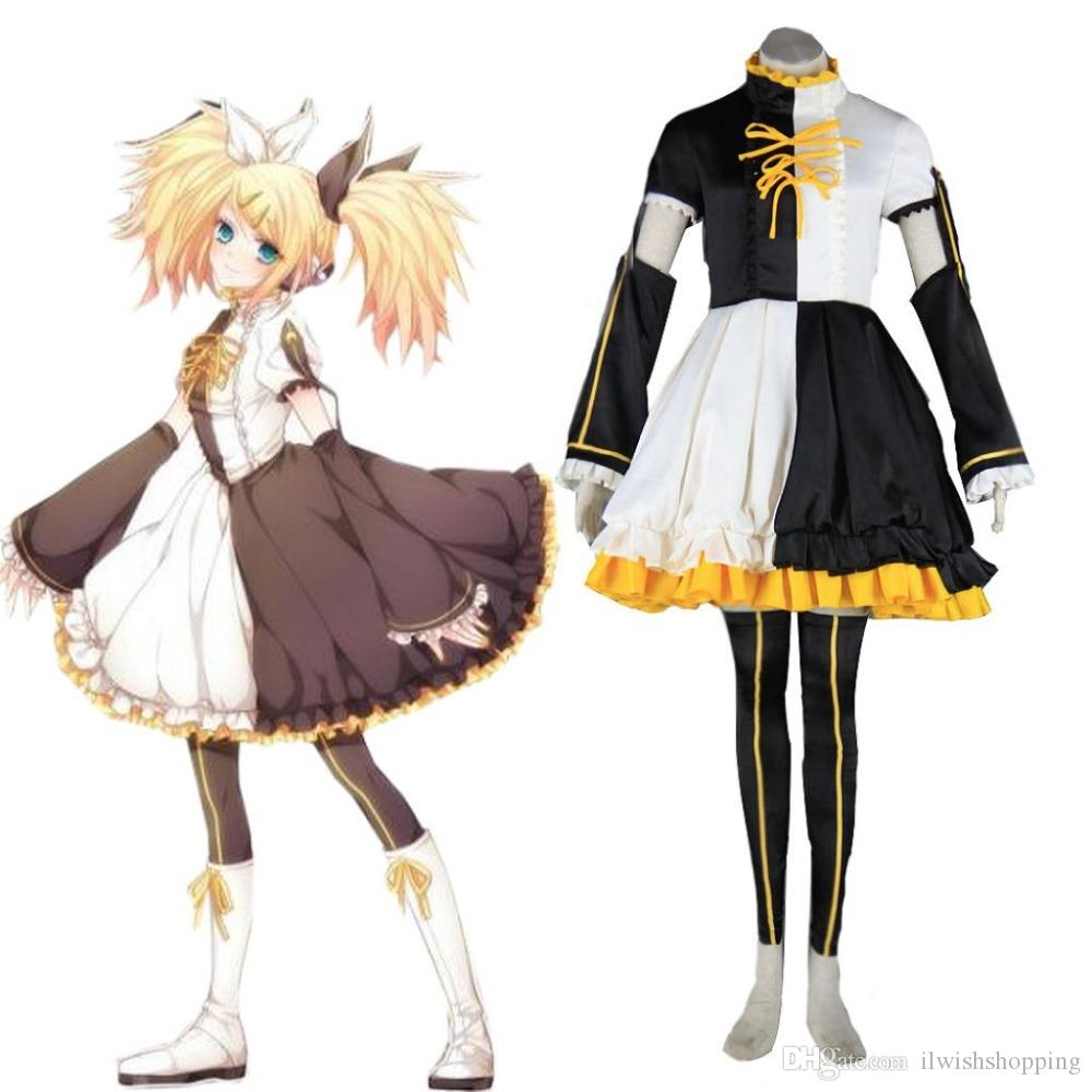 Anime Kagamine Rin Cosplay Costume