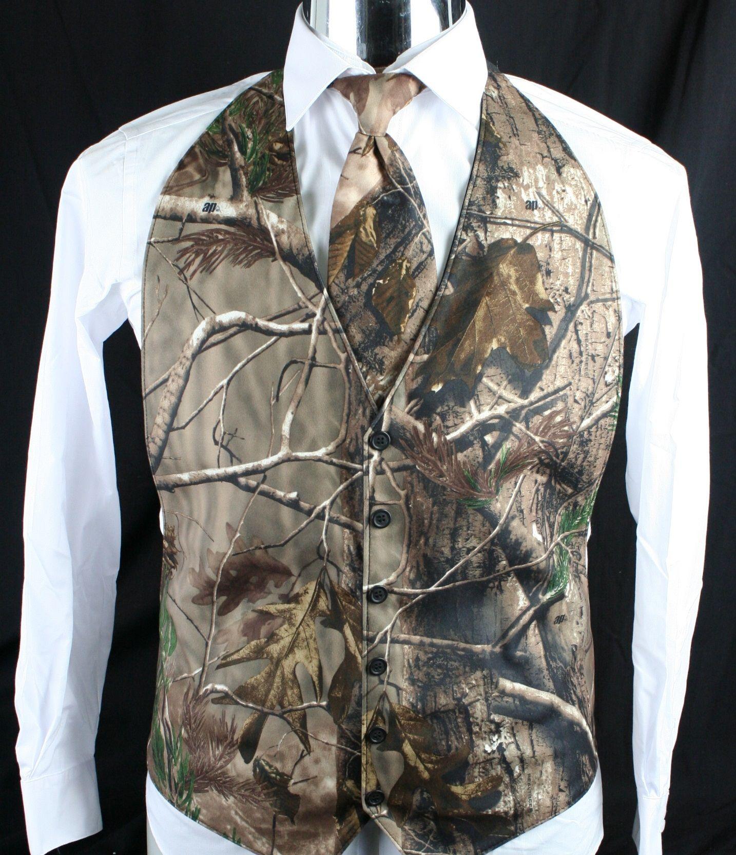 Nova Moda Camo Noivo Vest Formal Smoking Vest Para O Casamento Do Vintage País Boêmio Camuflagem Casamento Groomman Vest Terno