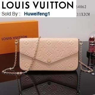 huweifeng1 opp Embossed handbag M64062 HANDBAGS SHOULDER MESSENGER BAGS TOTES ICONIC CROSS BODY BAGS TOP HANDLES CLUTCHES EVENING