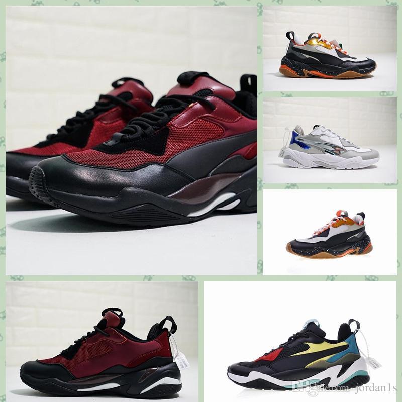 Puma Thunder 2019 Hot Triples Thunder Spectra Chaussures Desert Desert Casual Vieux Papa Chaussures Thunderss Designer Hommes Baskets Femmes Sneakers Running Chaus