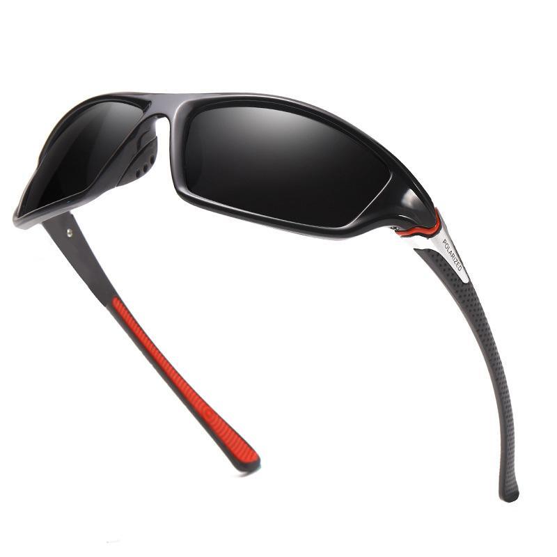أعلى فاخر جديد الرياضة النظارات الشمسية المستقطبة ريترو ركوب النظارات الشمسية للرجال مصمم النظارات الشمسية
