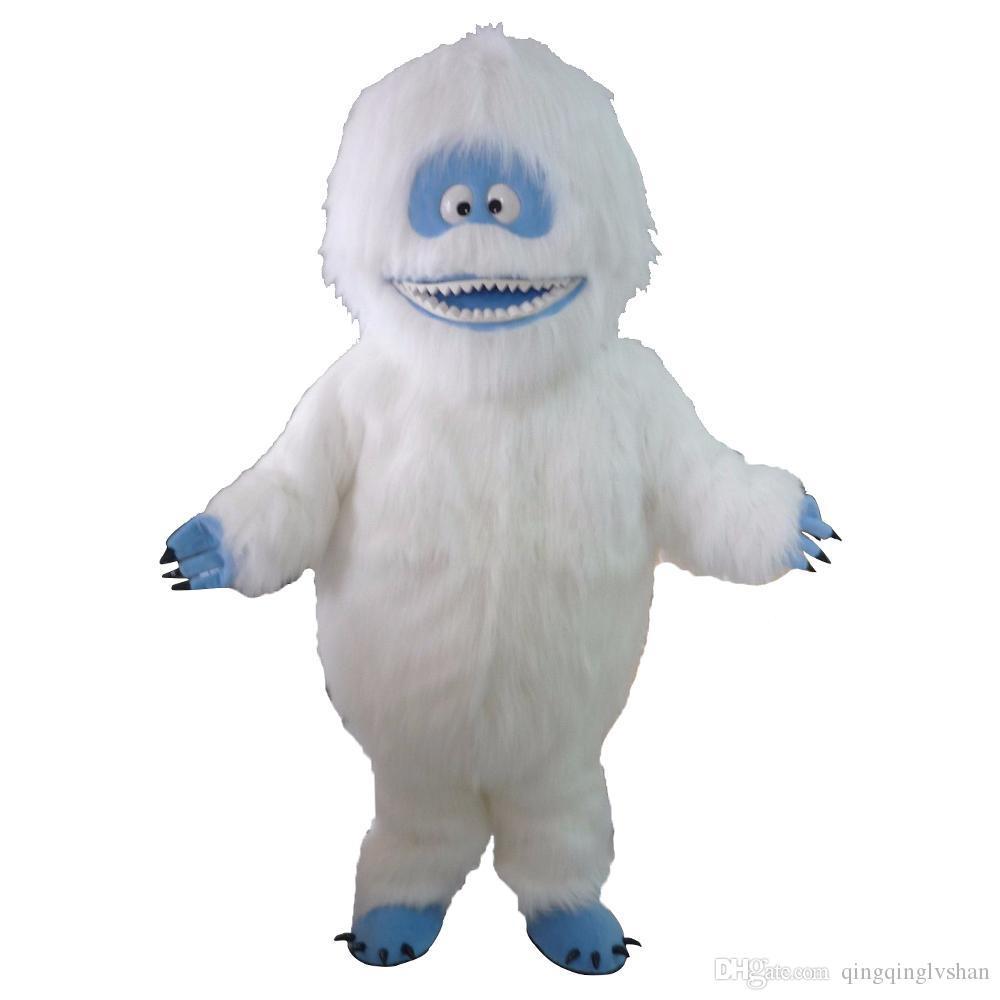 Новая Фабрика прямая продажа отвратительный горячий продавать аниме унисекс Снеговик костюм талисмана маскарадное платье Бесплатная доставка