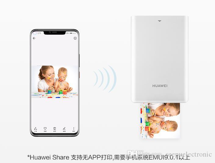 2019 Оригинальный новейший Huawei Zink CV80 Pocket Portable AR Photo Принтер Blutooth 4.1 300DPI Мини Беспроводной телефон Фотографии Принтер