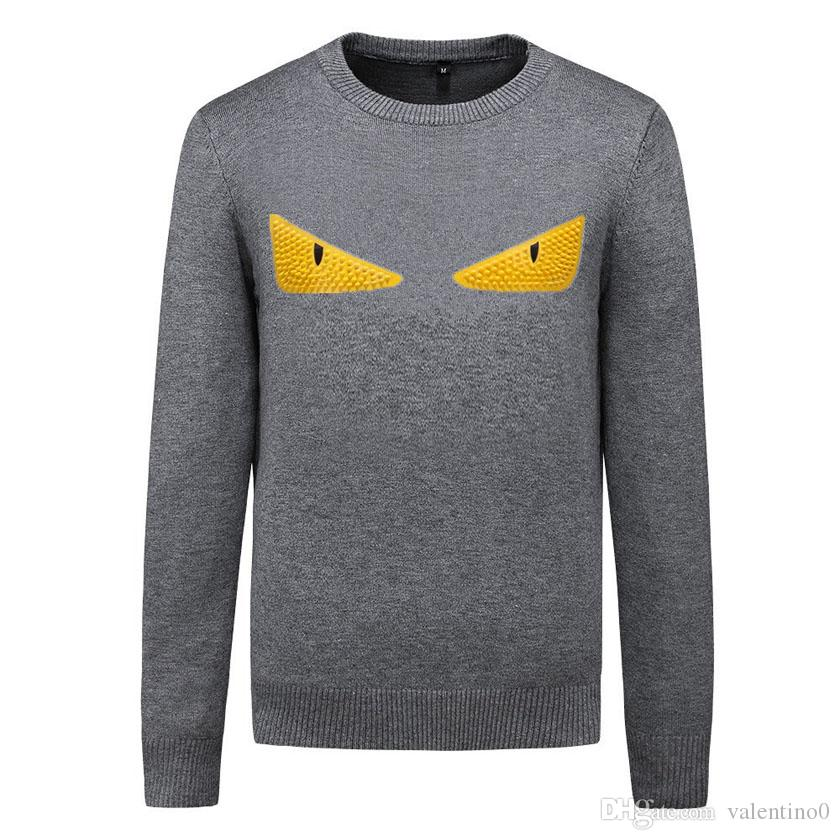 Yeni Tasarımcı Triko Kazak Erkekler Marka Hoodie Uzun Kollu Lüks Kazak Erkek Sonbahar Triko Kış Erkek Giyim M-3XL