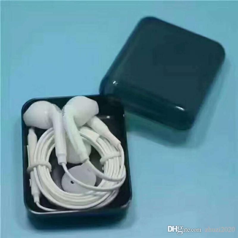 samsung için perakende kutu ile Uzaktan Mic ile Kulak Kulaklık In En iyi kalite S6 kulaklık Kulaklık 3.5mm s7 HTC