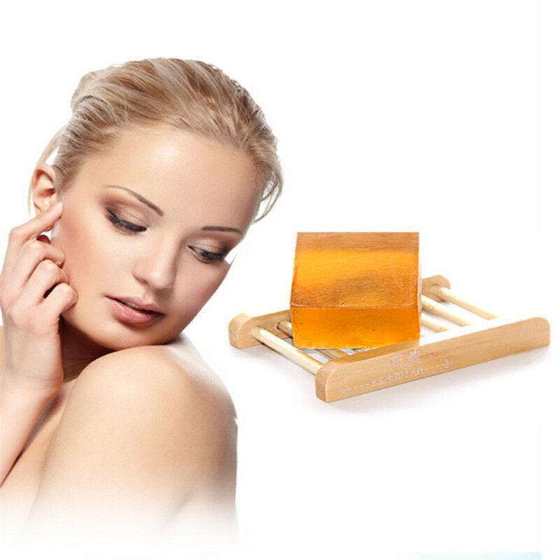 اليدوية العسل الحلو صابون الوجه تبييض الجسم البرق صابون التنظيف العميق تبييض كوجيك الصابون العناية بالوجه ترطيب الجلد