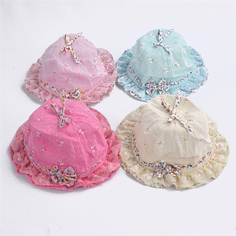 Newborn Princess Sun Hat For Baby Girl Fisherman Hat For Girls Kwaii Wide Brim Cap Girls Casual Outdoor Beach