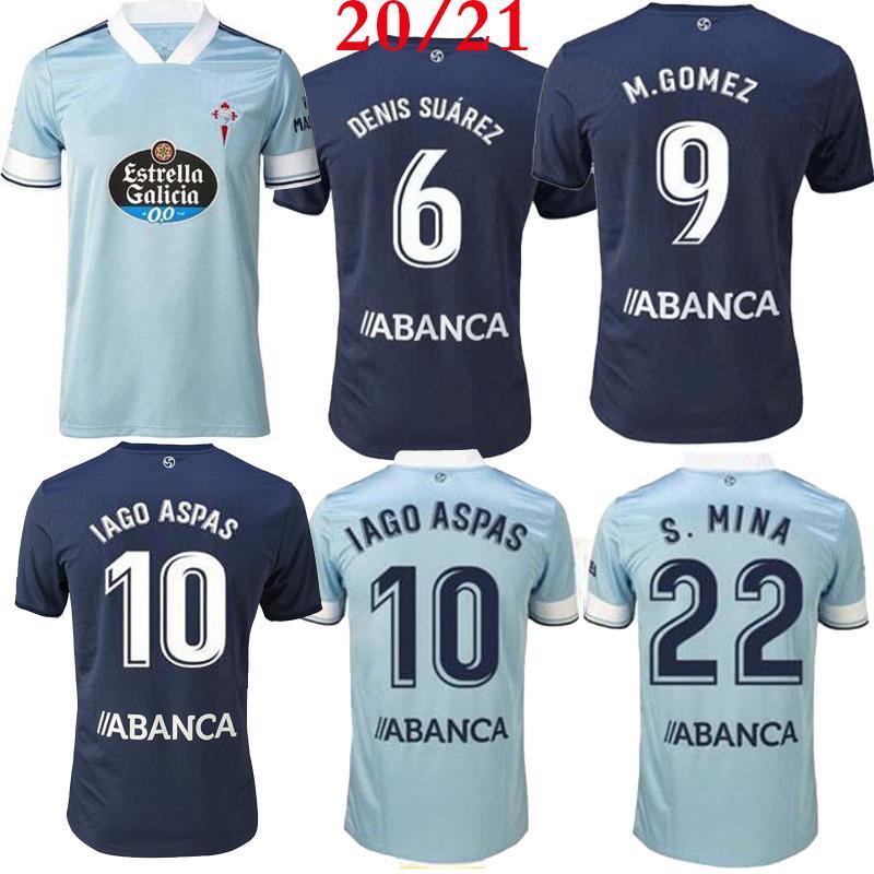 Top jersey qualité thaï 2021 2020 Celta Vigo soccer 20 21 Celta de Vigo BONGONDA HERNANDEZ Nolito maison loin maillots chemise de football 2020