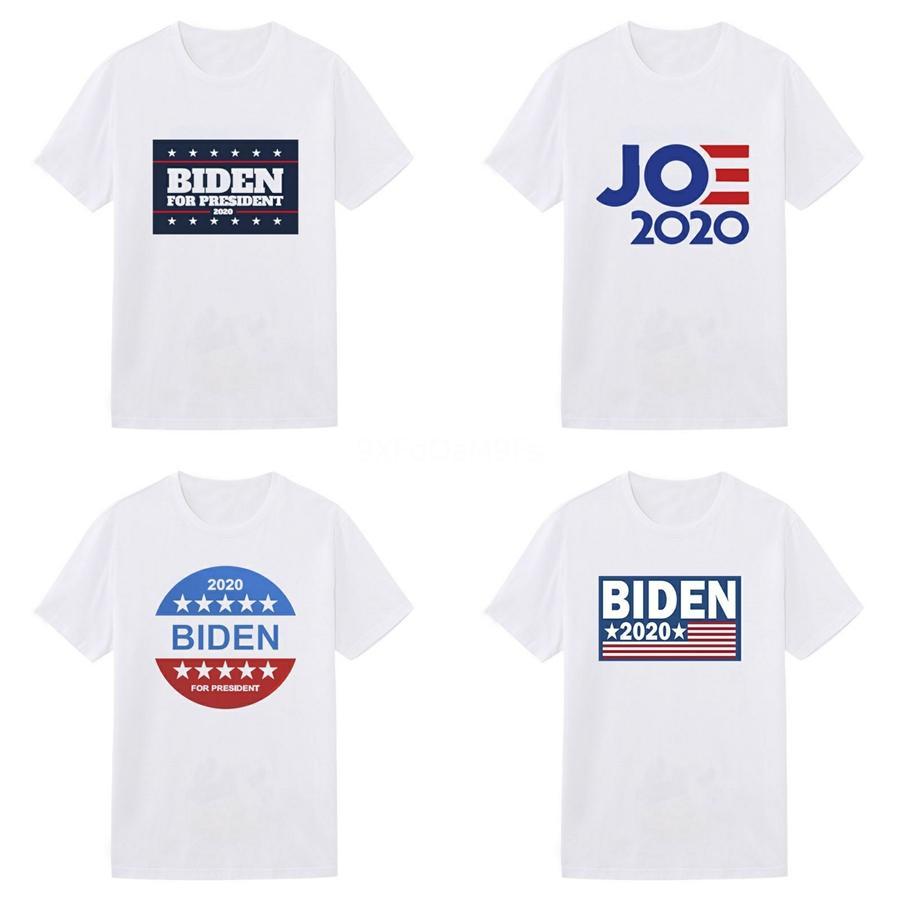 Été Designer Biden T-shirts des femmes des hommes Hauts tête Lettre de broderie T-shirt pour hommes Vêtements de marque à manches courtes T-shirt femmes Tops S-2TG # 801
