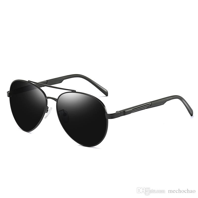 Designer de Marca dos homens Polarizada Óculos de Sol dos homens e das Mulheres Óculos Polarizados Óculos de Sol de Negócios New Driver Óculos Frete Grátis