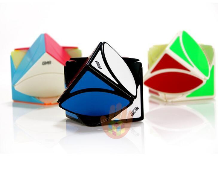 Maple Leaf cubes en forme de cube magique Creative Feuille Débutant Lisser Jouets pour l'éducation des enfants Livraison gratuite en gros