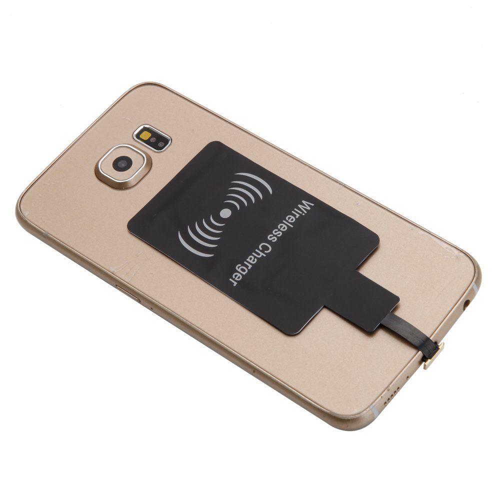 Ascromy 범용 무선 충전기 수신기 마이크로 USB Microusb Qi 표준 충전 리셉션 패드 모듈 안드로이드 휴대 전화에 대한