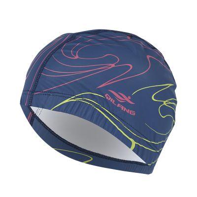 2019 конкурентные шапочка для плавания бассейн плавать мужчин пляж кепка уши волосы ПУ купания шляпа для мальчики девочки длинные волосы Леди шапочки для женщин