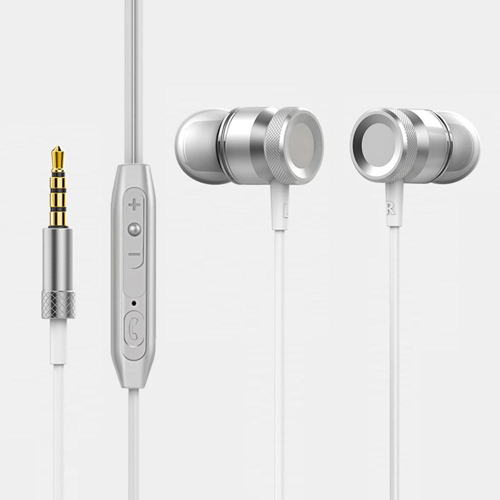 Kablolu Kulaklık İçin iPh Xiaomi Samsung Huawei Kulak Kulaklık Mikrofon Kulak Tomurcuklar Kulaklık Kulaklık
