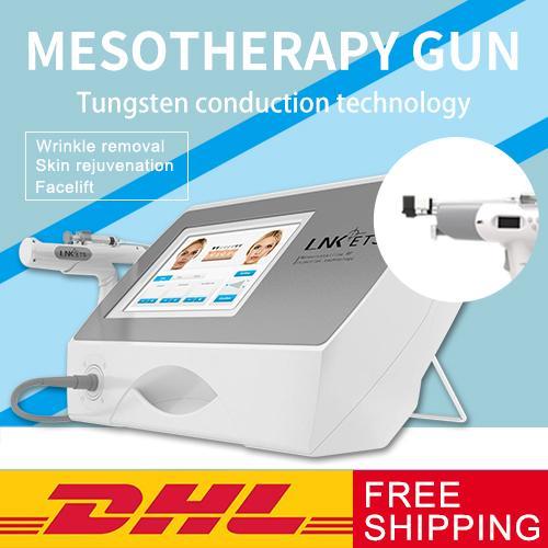 Professional New mésothérapie sans aiguille Mésothérapie Meso Injector Gun For Skin Rejuvenation Anti-gonflements peau Dispositifs de soins de beauté