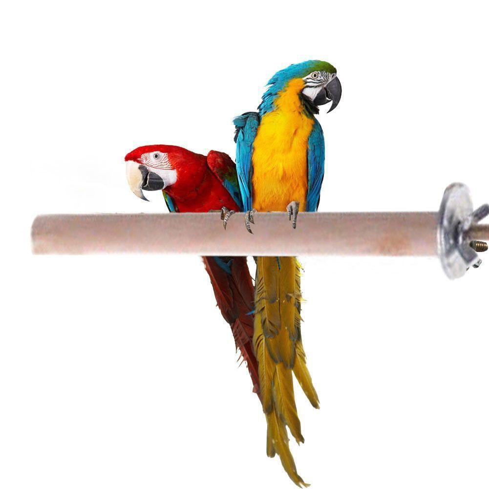 Papagei-Haustier-roher hölzerner Stand Toy Parakeet Hamster Branch Perches für Vogelkäfig