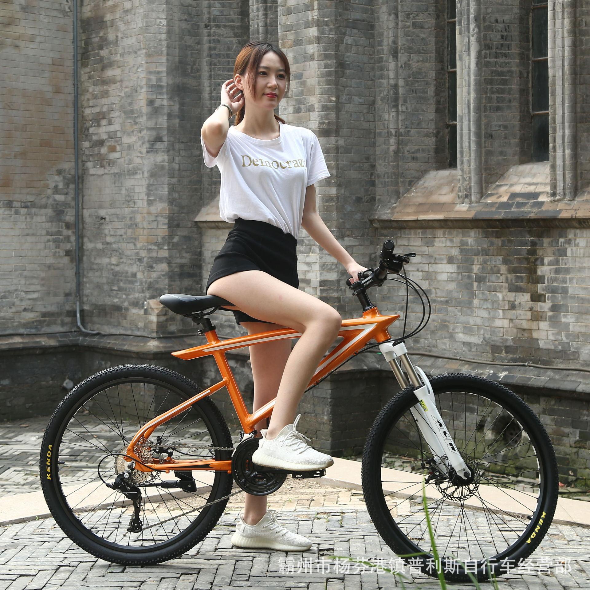 26-Zoll-Aluminiumlegierung Mountain Bike 24/27 Geschwindigkeit Ölbremse Doppelscheibenbremse Fahrrad Factory Direct Lieferung