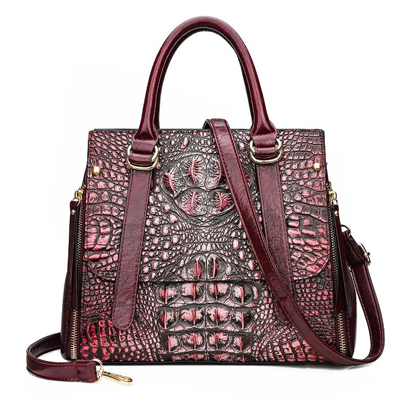 Rosa bolsas de grife Sugao bolsa bolsas de ombro das mulheres sacos de luxo Saco da sacola crossbody crochet padrão sacola handbags BHP