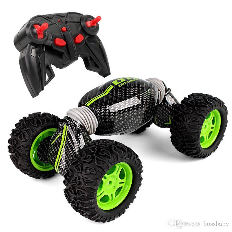 Kids Boys RC Toys Stunt Electric Remote Control Car Twisting Car Deformation Climbing Off-road Vehicle Drift Racing Four-wheel Drive Car 06