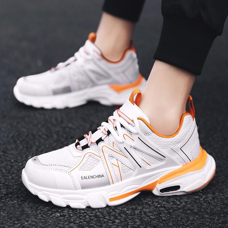 Attractive2019 Cloth Screen Man Ventilation Motion Casual Shoes Youth Tide Male Tourism Sneakers