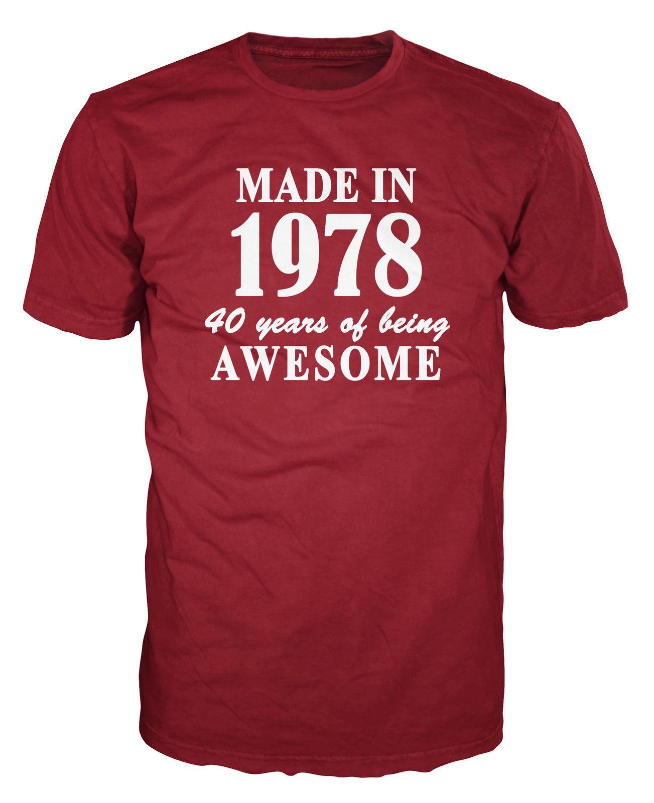 1978 Year Birthday Anniversary Womens Ladies Funny Slogan T-Shirt