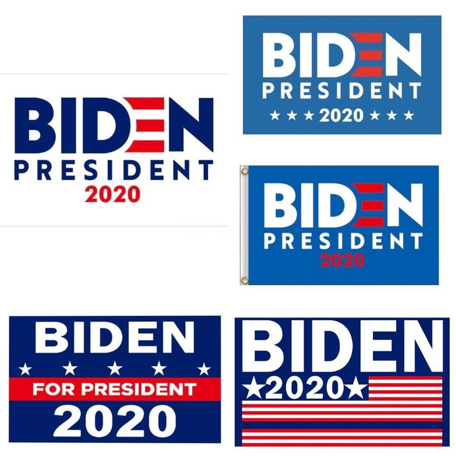 59 * 35 İnç Joe Biden 2020 Bayraklar Amerikan Başkanı Seçim Bayrağı Donald Biden 2020 Bayraklar Polyester Dekor Banner Şenlikli Parti Nf # 313