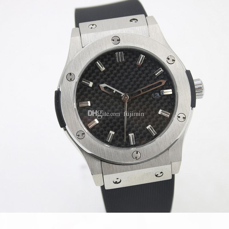 10 색 핫 판매 42mm 자동 시계 자체의 바람이 mechinal 손목 시계 자동 3 바늘 남성 스테인레스 스틸 (62) 시계
