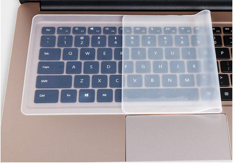 Su geçirmez Laptop klavye koruyucu film 15 laptop klavye kapak 15.6 17 14 dizüstü klavye kapak toz geçirmez film silikon yeni