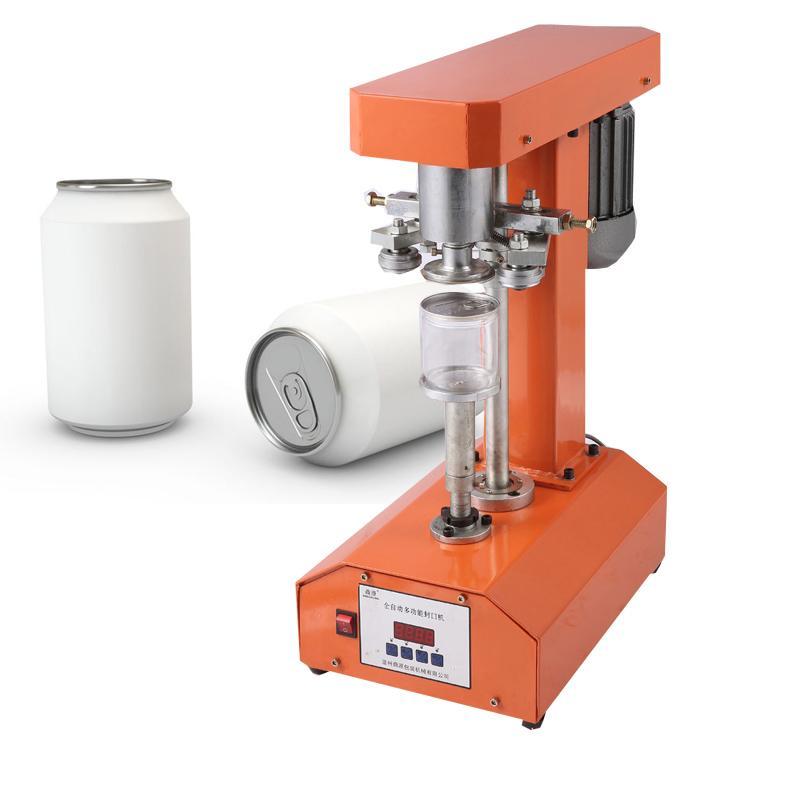 Semi-automatic can sealing machine for orange paint sealer milk tea shop easy sealing cup machine