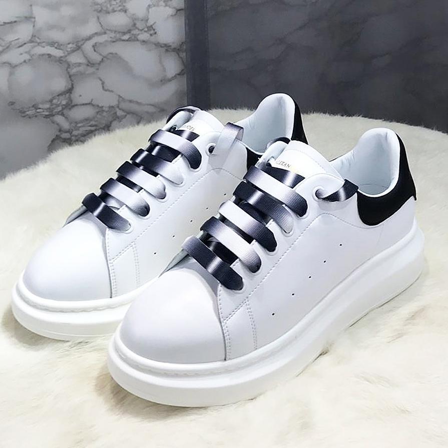 2020 новая роскошь высокого качества кожа цвет пояса небольшие белые туфли женские кожаные толстым дном диких бисквит женская повседневная спортивная обувь WX