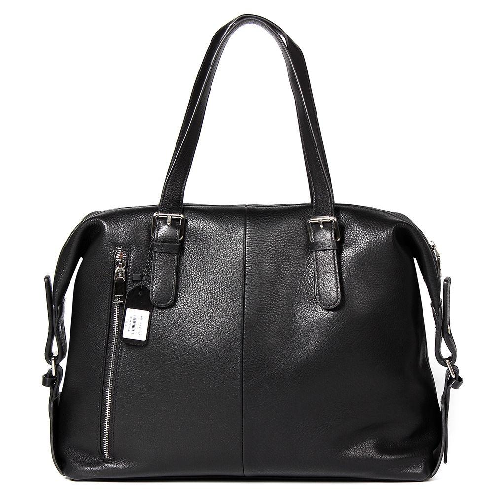Мужчины Сумка из натуральной кожи Мужчины Бизнес Портфель Кожа Мужской сумки Новая мода Повседневная Tote сумки