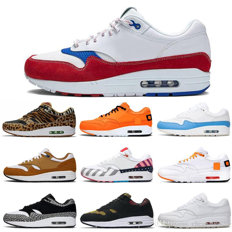 2020 New JEWEL 1s Men Running Shoes 87s Atomic Elephant Animal Pack 87 What THE Puerto Rico Mens Trainers Sports Sneakers 36-45