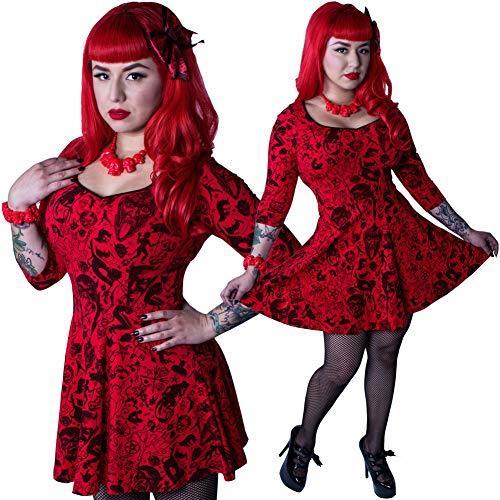 Kreepsville 666 Women Devil Made Me Do It Skater Dress