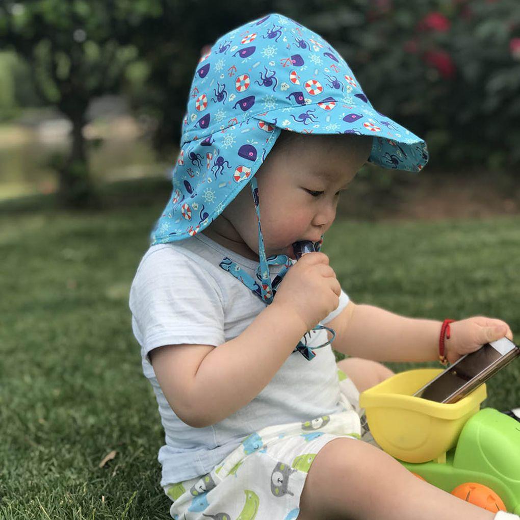Junge Eimer Panama Mädchen Mit Krempe Baumwolle Sommer Kind Strand Hut Baby Crown Sonnenhut Infant Kinder Sun Cap C19041302