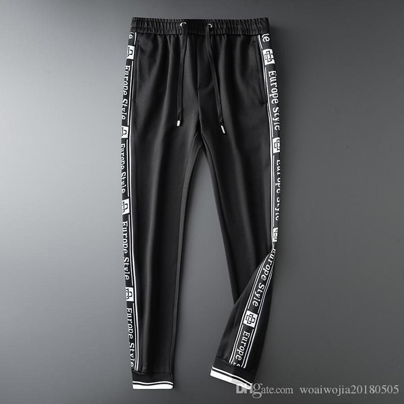 20190928 Fall Fashion Leisure Running Guards, Slim Pants and Sports Pants
