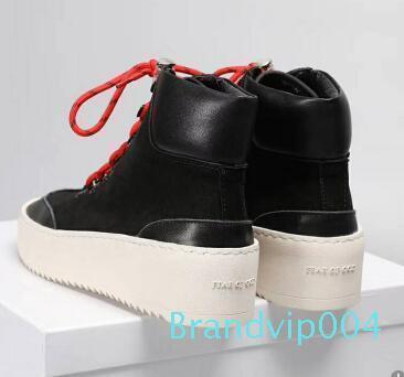 Venta-2019 Hot Mejor Calidad FOG El temor de Dios Top Militar del Ejército de las zapatillas de deporte Hight Botas hombres y las mujeres los zapatos de moda Martin botas c7