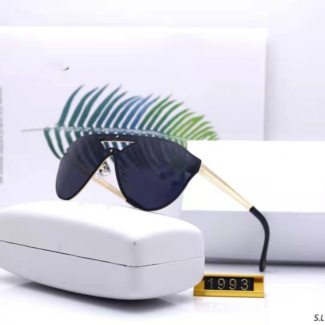 جودة عالية ماركة نظارات الشمس ve 1993 دليل الأزياء النظارات الشمسية مصمم نظارات رجالي إمرأة نظارات الشمس نظارات جديدة مع صندوق القضية