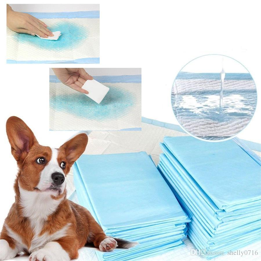 4 sizes available Pet Diaper Mat Super Absorbent Pet Dog Training Urine Pad Diapers for Dogs Cleaning Antibacterial Pet Dog Nappy