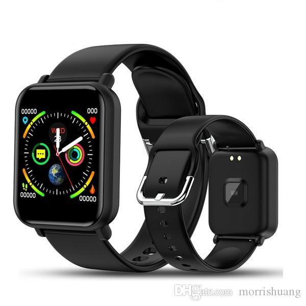 B57 intelligente orologio da polso impermeabile cardiofrequenzimetro pressione sanguigna multipla Sport Modalità Smartwatch Donne Wearable Orologi Uomo Orologio banda intelligente