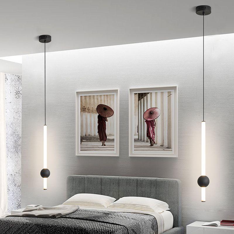 Modern Bedside Lights Diy Pendant Lights Led Kitchen Lights Led Lamp Bedside Hanging Lamp Lighting Bedroom Livingroom Decoration Pendant Lighting Lighting Direct From Delin 94 53 Dhgate Com